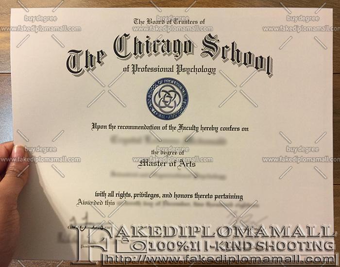 psychology chicago professional degree fake diploma certificate cspp diplomas