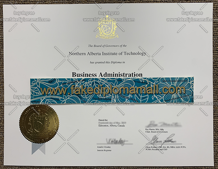 NAIT diploma, NAIT certificate, Northern Alberta Institute of Technology diploma