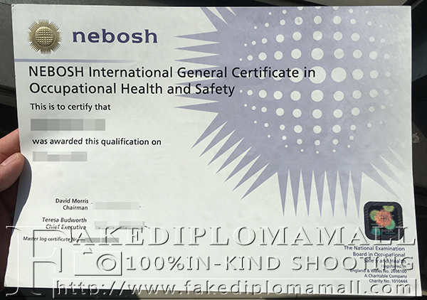 NEBOSH IGC in Occupational Health and Safety
