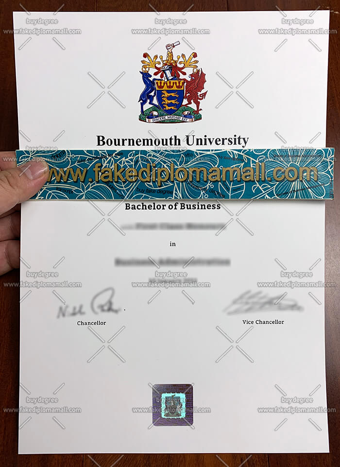 Bournemouth University Degree