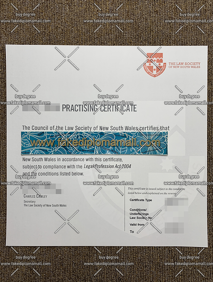 Lawyer Practising Certificate